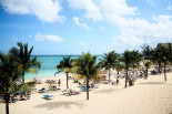 Beach at a Resort in Jamaica