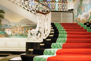 The Main Staircase at the Greenbrier