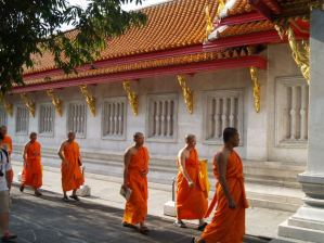 Thai Temple and Monks