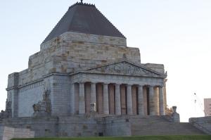 The Shrine of Remembrance, Melbourne, Australia