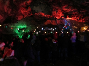 Christmas by Candlelight at the Treak Cliff Cavern