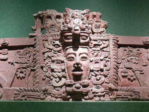 Cozemel Maya Mask