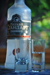 Don't turn down vodka in Russia!