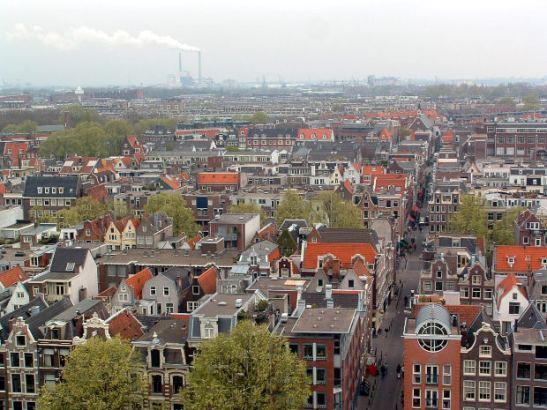 Amsterdam Birds Eye