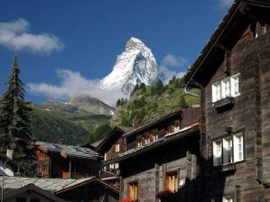 Honeymoon in Switzerland to see the Matterhorn