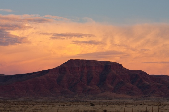 Nambia - Sunset