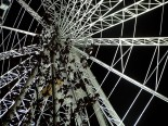 manchester wheel at night